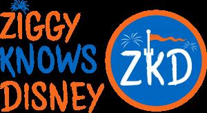 Ziggy Knows Disney Logo